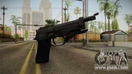 Mirror Edge Beretta M93R for GTA San Andreas