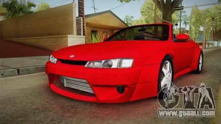 Nissan 200SX Cabrio Tuned for GTA San Andreas