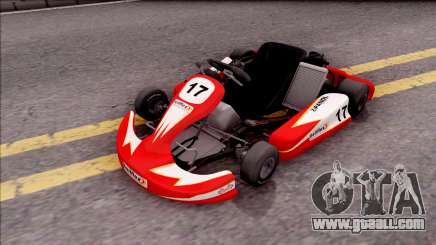 Shifter Kart 125cc for GTA San Andreas