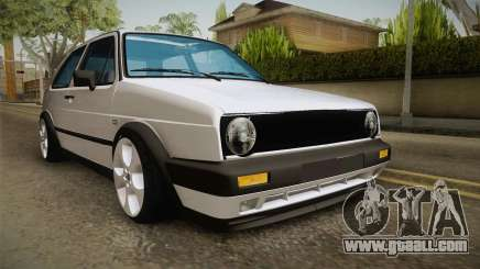 Volkswagen Golf MK2 2.0 TFSI Beta for GTA San Andreas