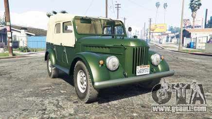 GAZ 69 [add-on] for GTA 5