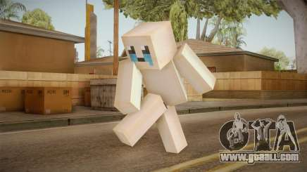 The Binding Of Isaac Skin - Minecraft Version for GTA San Andreas