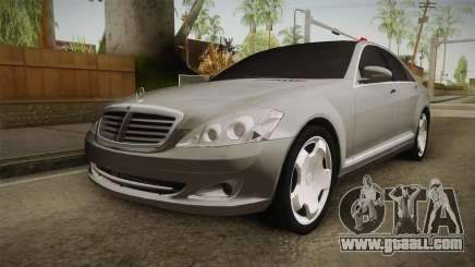 Mercedes-Benz S500 2013 for GTA San Andreas