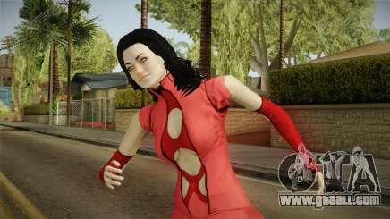 Mass Effect 3 Miranda DLC Citadel Dress Red for GTA San Andreas