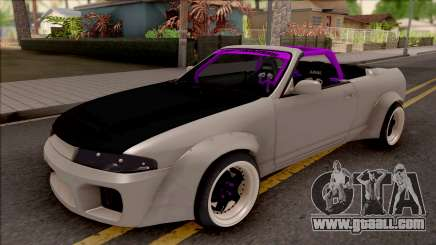 Nissan Skyline R33 Cabrio Drift Rocket Bunny for GTA San Andreas