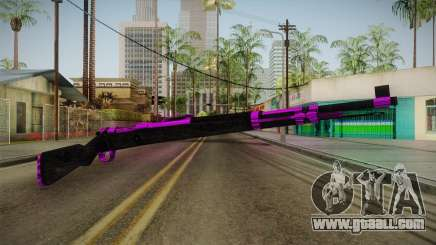 Purple Rifle for GTA San Andreas