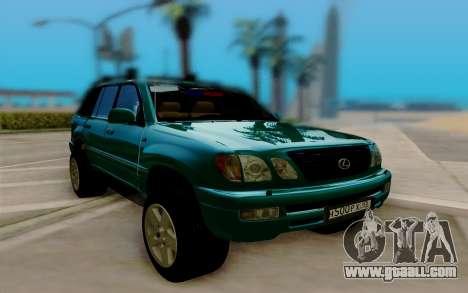 Lexus LX470 FBI for GTA San Andreas