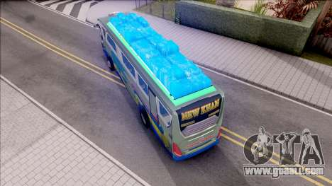 New Khan Bus G for GTA San Andreas back view