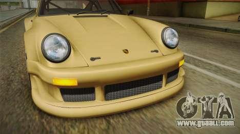 Porsche 911 Carrera RSR for GTA San Andreas upper view
