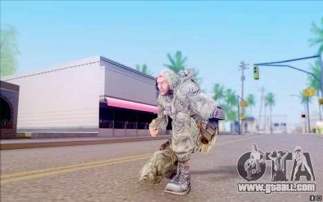 Wolf from S. T. A. L. K. E. R for GTA San Andreas fifth screenshot