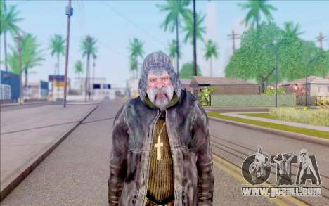 Father Vitaly from S. T. A. L. K. E. R. for GTA San Andreas