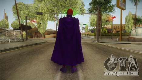 Marvel Future Fight - Magneto for GTA San Andreas third screenshot