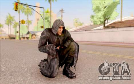 A young Hog of S. T. A. L. K. E. R. for GTA San Andreas