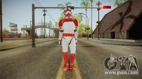 Star Wars Battlefront 3 - Shocktrooper for GTA San Andreas second screenshot