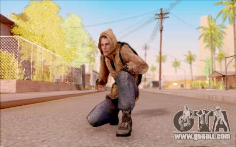 Degtyarev jacket rookie of S. T. A. L. K. E. R. for GTA San Andreas fifth screenshot