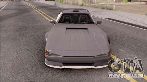 BlueRay Cheetah VX for GTA San Andreas inner view