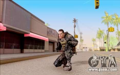 Degtyarev in body armor from S. T. A. L. K. E. R for GTA San Andreas fifth screenshot