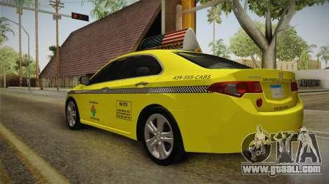 Honda Accord 2010 Taxi for GTA San Andreas