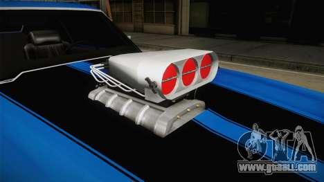 Chevrolet Chevelle SS 1970 v2 for GTA San Andreas inner view
