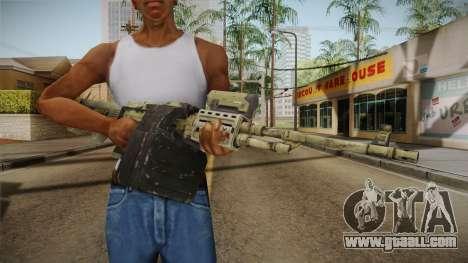 GTA 5 Camo Light Machine Gun for GTA San Andreas