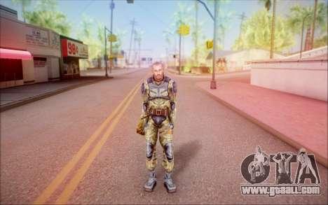 The CEP of S. T. A. L. K. E. R for GTA San Andreas second screenshot