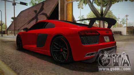 Audi R8 Vorsteiner for GTA San Andreas right view