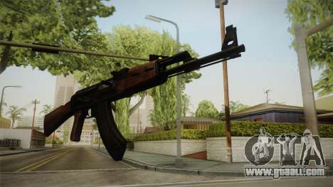 Call of Duty WWII AK-47 for GTA San Andreas third screenshot