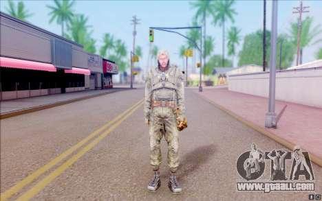 Wolf from S. T. A. L. K. E. R for GTA San Andreas second screenshot