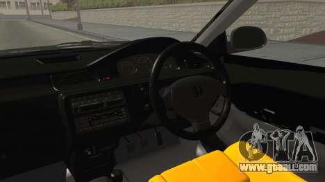 Honda Civic Estilo Stance 1994 for GTA San Andreas inner view