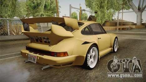 Porsche 911 Carrera RSR for GTA San Andreas left view