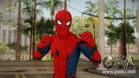 Spiderman Homecoming Skin v1 for GTA San Andreas