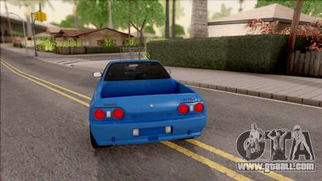 Nissan Skyline R32 Pickup for GTA San Andreas back left view