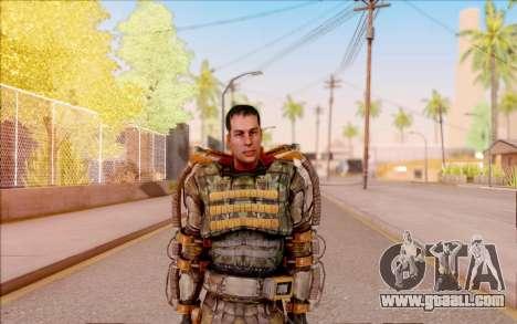 Degtyarev in the exoskeleton of Freedom of S. T. for GTA San Andreas