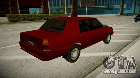 Moskvich Prince Vladimir for GTA San Andreas left view
