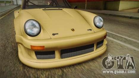 Porsche 911 Carrera RSR for GTA San Andreas side view