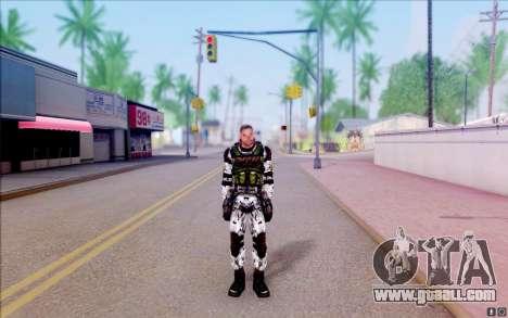 The tramp of S. T. A. L. K. E. R for GTA San Andreas second screenshot