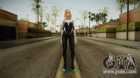 Marvel Future Fight - Spider-Gwen for GTA San Andreas second screenshot