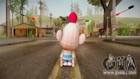 Cartoon Network Punch Time - Billy Skin for GTA San Andreas third screenshot