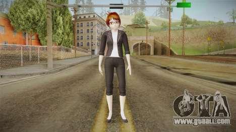 Yandere Simulator - Rino Fuka Skin for GTA San Andreas second screenshot