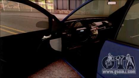 Ford Focus Sedan 2000 for GTA San Andreas inner view