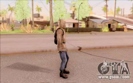 Degtyarev jacket rookie of S. T. A. L. K. E. R. for GTA San Andreas third screenshot