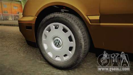 Volkswagen Jetta 1995 for GTA San Andreas back view
