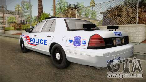 Ford Crown Victoria Police v1 for GTA San Andreas right view