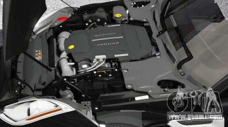 GTA 5 Jaguar F-Type 2015 back view