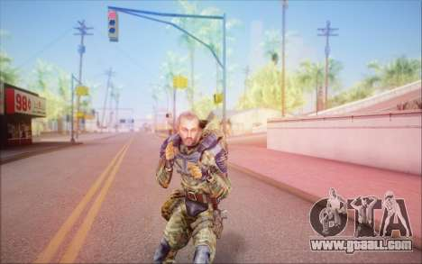 The CEP of S. T. A. L. K. E. R for GTA San Andreas sixth screenshot