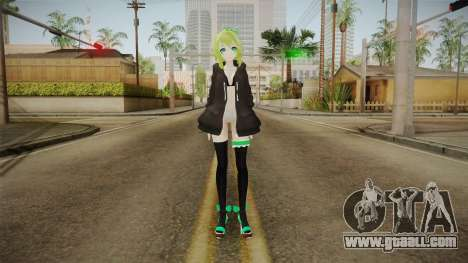 Mimi Gumi Megpoid Skin v2 for GTA San Andreas second screenshot