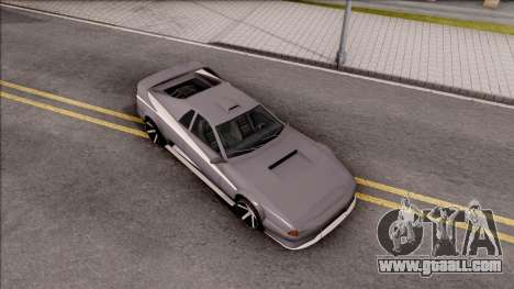 BlueRay Cheetah VX for GTA San Andreas right view