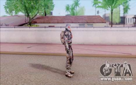 Captain Ivantsov of S. T. A. L. K. E. R for GTA San Andreas
