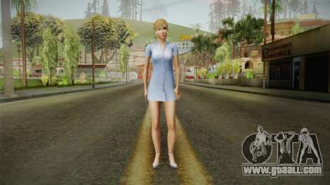 Sandra Skin for GTA San Andreas second screenshot