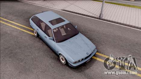 BMW M5 E34 Touring Slammed 1995 for GTA San Andreas right view